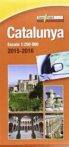 Catalunya 2015-2016: Mapa de carreteres Escala 1:250.000 (Mapes de carreteres.)