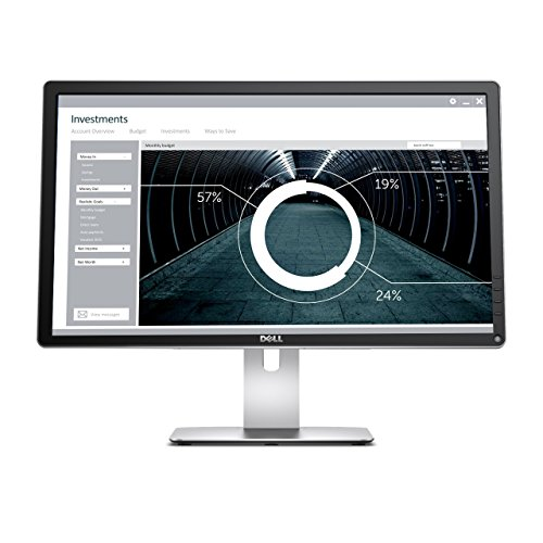 Monitor Professional Ultra HD 4K Widescreen 23,8' Dell P2415Q Preto