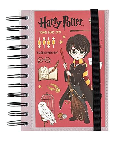Agenda Harry Potter 2021-2022 - Agenda escolar 2021-2022 / Agenda 2021 día por página - Agenda 11 meses desde Agosto de 2021 a Junio de 2022 | Producto licencia oficial - Agenda Kalenda