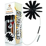 Dryer Vent Cleaner Kit -(20-Feet) Innovative Lint Remover Reusable Strong Nylon  Flexible Lint Brush with Drill Attachment for Faster Cleaning