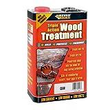 Everbuild LJUN25 Triple Action Wood Treatment 25L