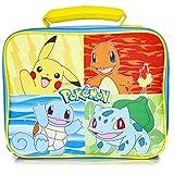 Pokémon Lunch Box avec Pikachu Bulbizarre, Salamèche et Carapuce | Sac...