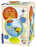 Thames & Kosmos Kids First Light Up Globe - Handcrafted, Acrylic - Made in Germany by Columbus Globes - 10', Illuminated LED Light-Up Political Map with Nocturnal Animals & Deep Sea Creatures