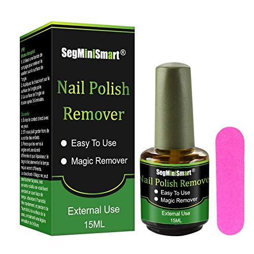 Magic Soak-Off Gel Nail Polish Remover, Professional Remover Nail Polish Delete Primer Acrylic Clean Degreaser For Nail Art Lacquer, Easily & Quickly