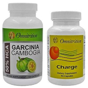 Omnitrition's Garcinia Cambogia Extract (120 Capsules) and *Caffeine** Charge® (90 Capsules) (Bundle) 9 - My Weight Loss Today
