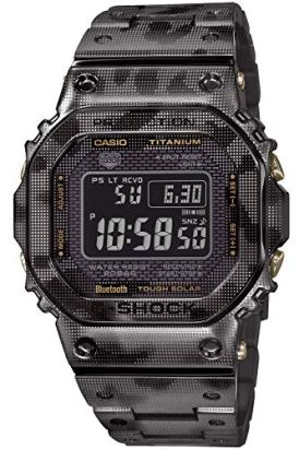 Casio G-Shock GMW-B5000TCM-1JR Origin Camouflage Radio Solar Men's Watch (Japan Domestic Genuine Products)