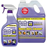 Pro HD'Purple' Concentrated Cleaner & Degreaser - Heavy Duty, Professional, Automotive, Restaurant, Grills, Ovens (32 oz Spray @Heavy Strength and 1 Gal Concentrate Refill)