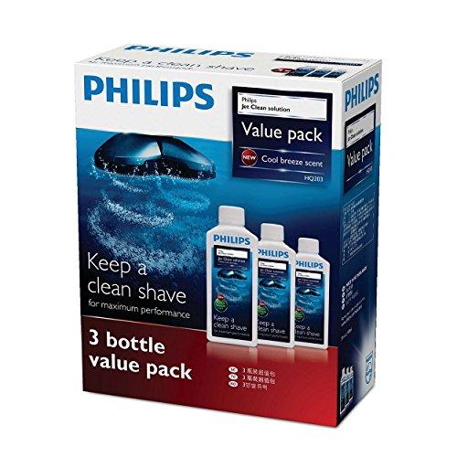 フィリップス ジェットクリーン クリーニング液 センソタッチ3D & 2Dシリーズ用 3個パック (3ヶ月分) HQ203/61