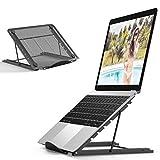 Jumkeet Support Ordinateur Portable, Support PC Portable Ventilé, Laptop Stand...