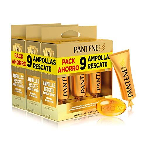 Pantene Repara Y Protege, 9 Ampollas Cabello Mujer, Como Vitaminas Para El Cabello,...