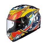 オージーケーカブト(OGK KABUTO)バイクヘルメット フルフェイス RT-33 ACTIVE STAR (アクティブスター) イエロー (サイズ:M) RT-33