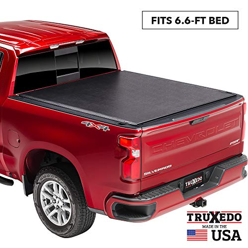 TruXedo Lo Pro Soft Roll Up Truck Bed Tonneau Cover | 572001 | fits 14-18, 2019 Limited/Legacy GMC Sierra & Chevrolet Silverado 1500, 2500HD, 3500HD 6'6' bed