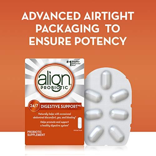 Align Probiotics Supplement, 63 Capsules, Natural Strain Probiotic Digestive Support for Adult Men and Women 5