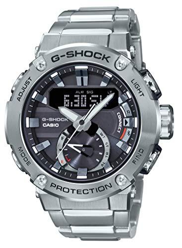 G-SHOCK [Casio]-Uhr G-Steel Solar-Karbonkern Schutzstruktur GST-B200D-1AJF Männer Silber