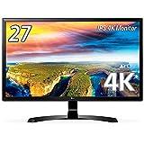 【Amazon.co.jp限定】LG モニター ディスプレイ 27UD58-B 27インチ/4K/IPS 非光沢/HDMI×2、DisplayPort/FreeSync対応/ブルーライト低減機能