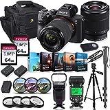 Sony Alpha a7 III Mirrorless Digital SLR Camera with 28-70mm Lens Kit + Prime TTL Accessory Bundle...