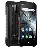 télephone Portable incassable (2019), Ulefone Armor X3 avec Mode sous-Marin, IP68 résistant Smartphone Etanche Android 9.0, Double SIM, 2 Go + 32 Go, Batterie 5000 mAh, Visage déverrouillé GPS Noir