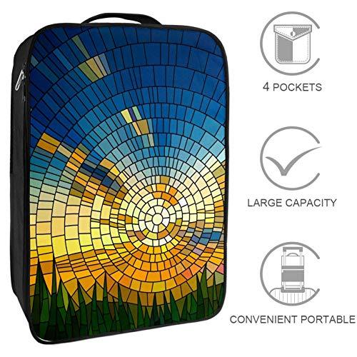 Bennigiry Meadow Sonnenglas-Reisetasche für Schuhe, Wochenender, Golf-Schuhe, Organizer, Taschen für Damen und Herren