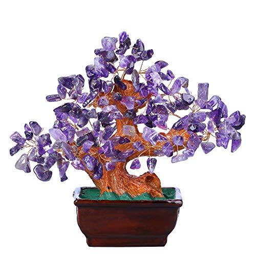 CrystalTears Amethyst Crystal Money Tree Reiki Healing...