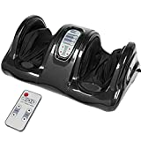 Best Choice Products Therapeutic Kneading and Rolling Shiatsu Foot Massager w/High Intensity Rollers Remote - Black