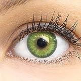 Glamlens lentilles de couleur vert naturelles colorées très haute...