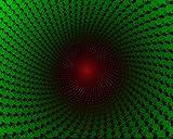 Kpoiuy Pintar por NúMeros DIY InmersióN Rojo Verde Oscuro DecoracióN De La Boda De La Lona Imagen del Arte Regalo 40 * 50CM Sin Marco