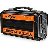 ROCKPALS 250-Watt Portable Generator Rechargeable...