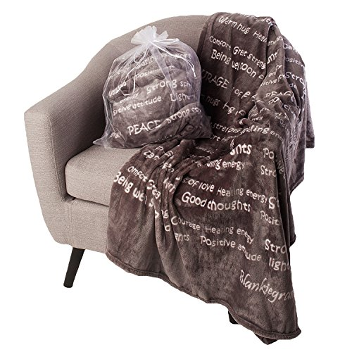 BlankieGram Healing Thoughts Blanket The Ultimate Healing...