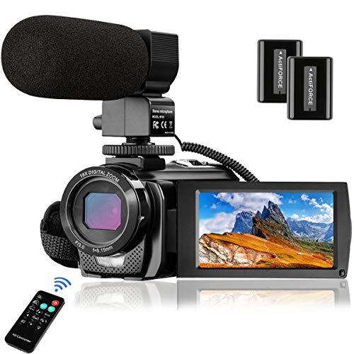 Video Camera Camcorder MELCAM 1080P...