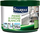 STARWAX Pierre de Nettoyage Blanche 100% d'Origine Naturelle