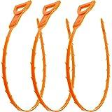 Vastar 3 Pack 19.6 Inch Drain Snake...