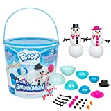 Indoor Snow That Is Easy To Mold and Can Be Used Over and Over Again! Super Soft and Smooth Texture That Feels Lighter Than Air! Set Includes Snowman Molds and 22 Accessories. Safe and Non Toxic Formula. Designed For Children Ages 3 and Up.