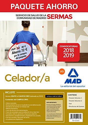 Paquete Ahorro Celador/a Servicio de Salud de la Comunidad de Madrid. Ahorro de 72 € (incluye Tema