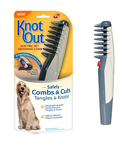 Allstar Innovations Knot Out Electric Pet Grooming Comb - Remove Knots...