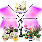 Grow Light for Indoor Plants - Upgraded Version 80 LED Lamps with Full Spectrum & Red Blue Spectrum,...