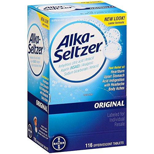 Alka-Seltzer Original Antacid and Analgesic