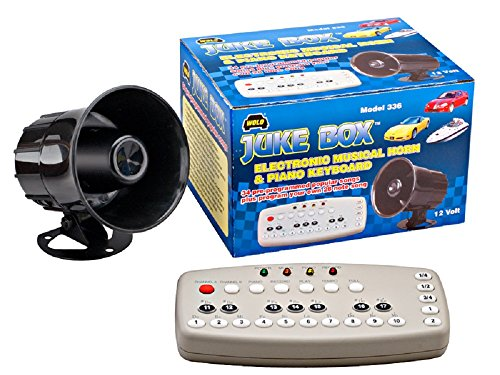 Wolo (336) Juke Box Electronic Musical Horn - 12 Volt