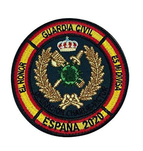 Parche Hook and Loop Operacion Balmis 2020 Guardia Civil 8cm