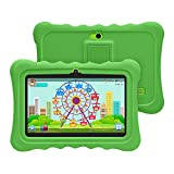 YUNTAB 7-inch Q88H Kids Tablet,Android 8.1 OS,Allwinner A50 Quad-Core CPU,1GB RAM+16GB ROM,1024x600 Touch Screen,with Dual Cameras,Bluetooth and Wi-Fi (Green)