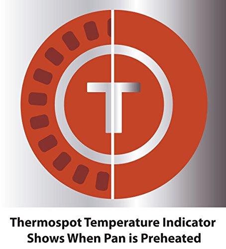 Product Image 7: T-fal C561SC Titanium Advanced Nonstick Thermo-Spot Heat Indicator Dishwasher Safe Cookware Set, 12-Piece, Black
