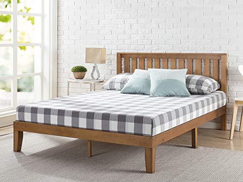 solid wood bed frame
