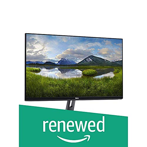 Dell 27 Inch Monitor SE2719H-View Images, Video and Files Clearly on This 27in Full HD Monitor with Thin bezels and a Compact Footprint That frees up Valuable Desk Space (Renewed)
