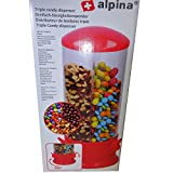 Alpina Candy Distributeur de Bonbons en Chewing-Gummi Cerialialie 3...