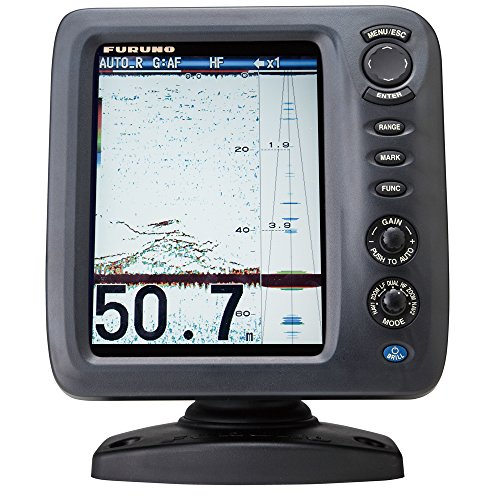 Furuno FCV588 Color LCD, 600/1000W, 50/200 KHz Operating Frequency Fish Finder Without Transducer, 8.4'