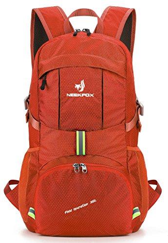 NEEKFOX Zaino Zainetto da Trekking Leggero e Compatto da Viaggio, Zaino da Campeggio Pieghevole da...