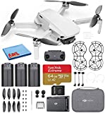 DJI Mavic Mini Fly More Combo Ultralight Foldable 3-Axis GPS Quadcopter Drone with 2.7K FHD Camera -...