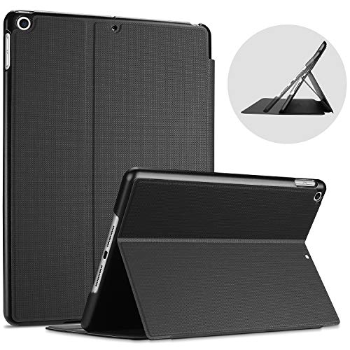 ProCase iPad 10.2 Case 2019 7th Gen iPad Case, Slim Stand Protective Case Folio Cover for 2019 Apple iPad 10.2 Inch 7th Generation Black