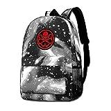 Lawenp Mochilas Hydra Galaxy para Viajes Escolares, Compras de Negocios, Trabajo, Bolsos con Estilo, Mochilas Informales