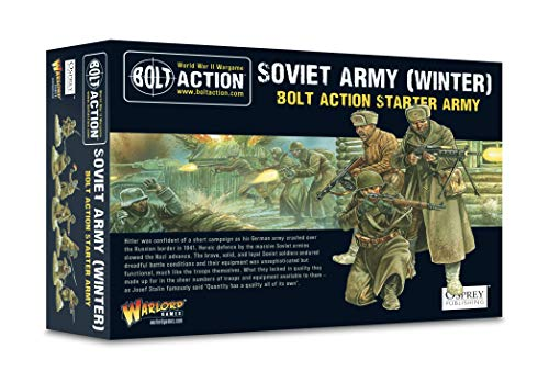 Warlord Games 402614002, Bolt Action Soviet Army (Winter) starter army, wargaming miniatures