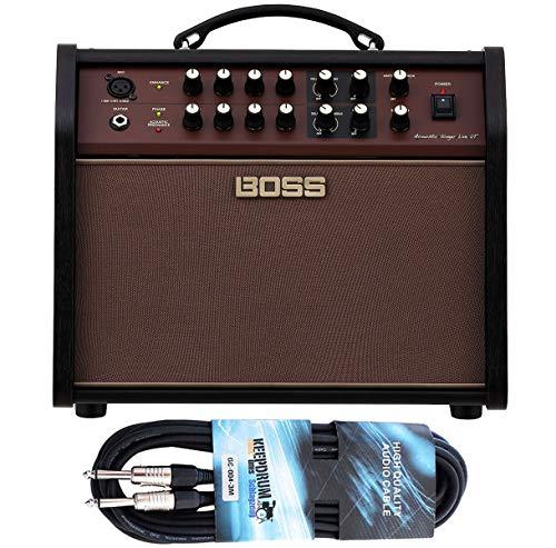 Boss Acoustic Singer Live LT Amplifier + Keepdrum Jack Cable 3 m
